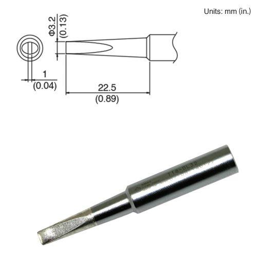 T18-DL32 Chisel Tip