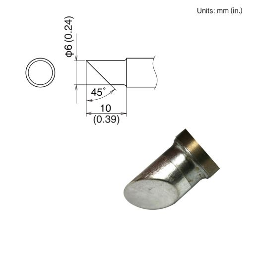 T22-C6 Bevel Tip