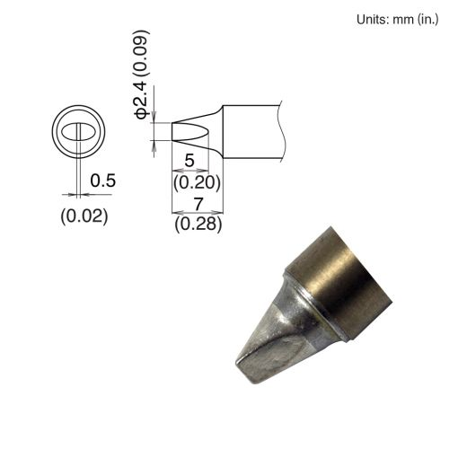 T22-D24 Chisel Tip