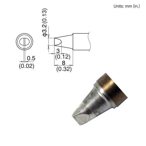 T22-D32 Chisel Tip