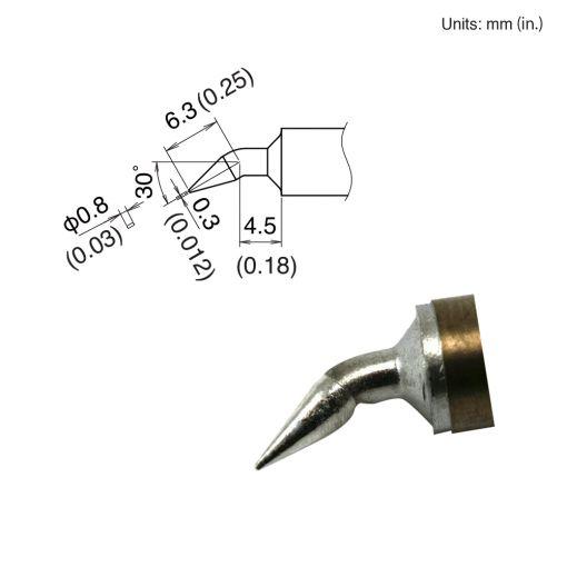 T22-JD08 Chisel Tip