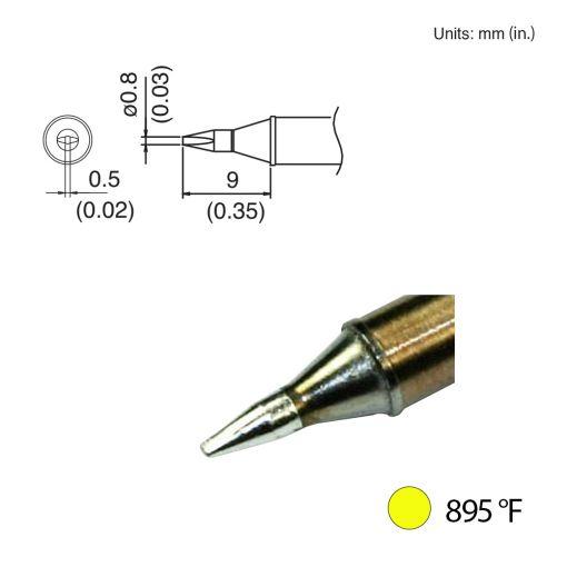 T31-00D08 Chisel Tip, 895°F / 480°C