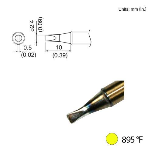 T31-00D24 Chisel Tip, 895°F / 480°C