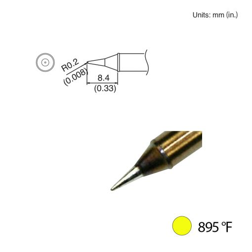 T31-00I Conical Tip, 895°F / 480°C