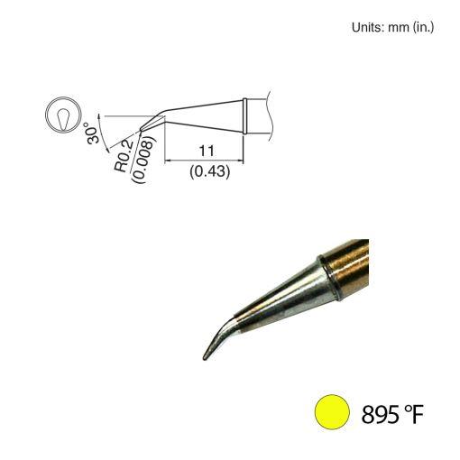 T31-00J02 Angled Tip, 895°F / 480°C