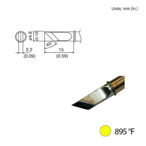 T31-00KU Knife Tip, 895°F / 480°C