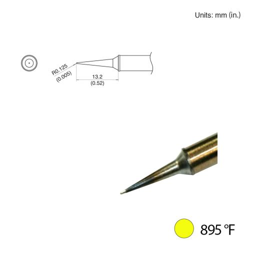 T31-00LI Conical Slim Tip, 895°F / 480°C