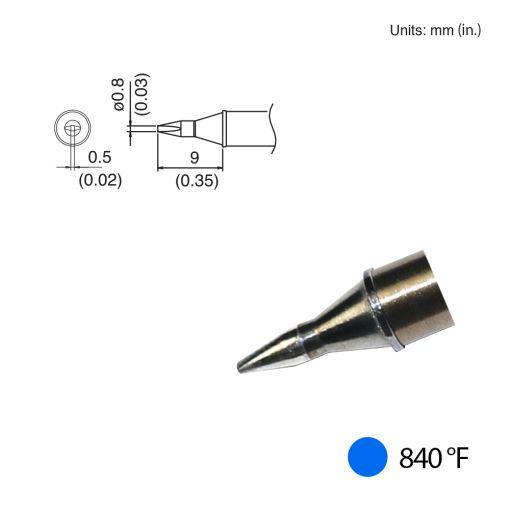 T31-01D08 Chisel Tip, 840°F / 450°C