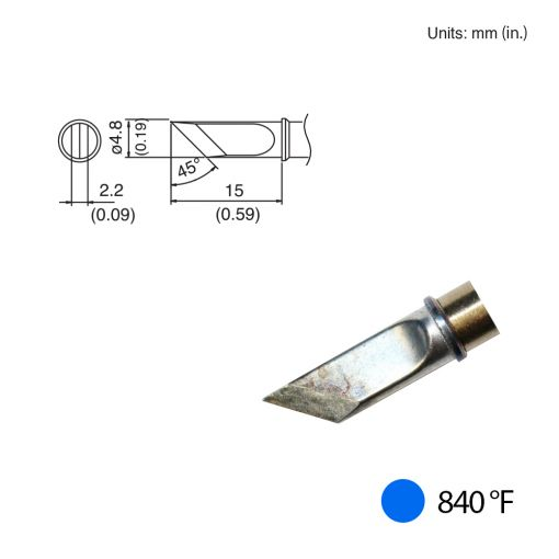 T31-01KU Knife Tip, 840°F / 450°C