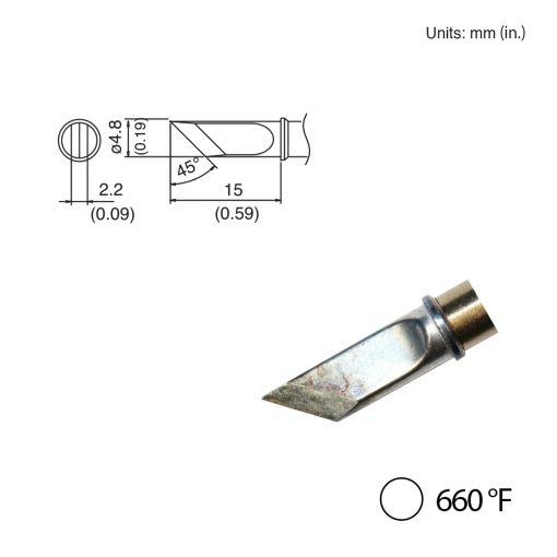T31-03KU Knife Tip, 660°F / 350°C