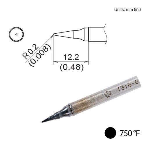 T31B-02IL Conical Tip, 750°F / 400°C
