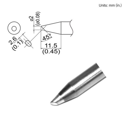 T33-SSBC2 Bevel Tip