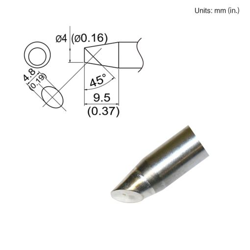 T33-SSBC4 Bevel Tip