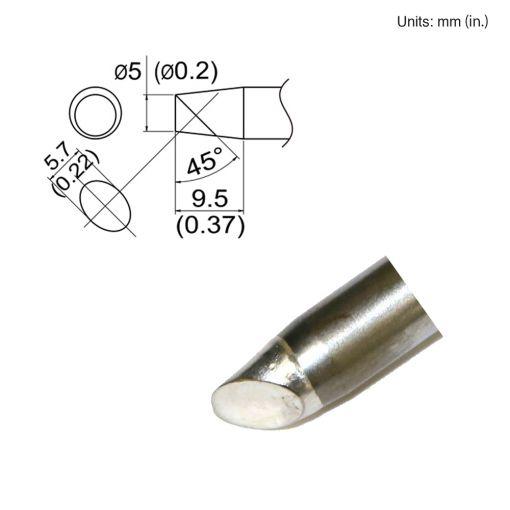 T33-SSBC5 Slim Bevel Tip