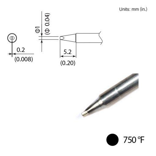 T35-02D06 Chisel Tip