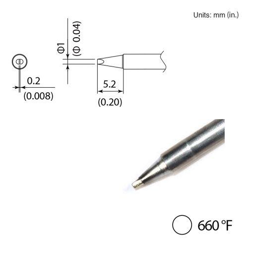 T35-03D06 Chisel Tip