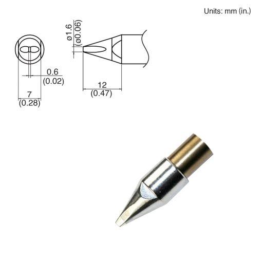 TX1-XD16, 140W Chisel Tip