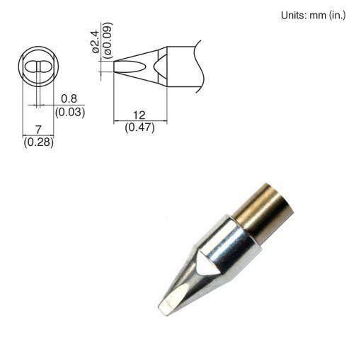 TX1-XD24, 140W Chisel Tip