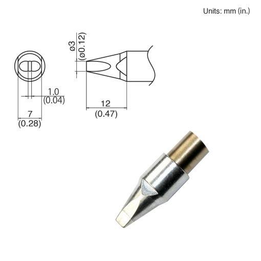 TX1-XD3, 140W Chisel Tip