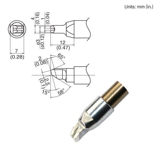 TX1-XRK, 140W Slot Tip